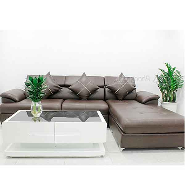 Sofa da cao cấp SFD002