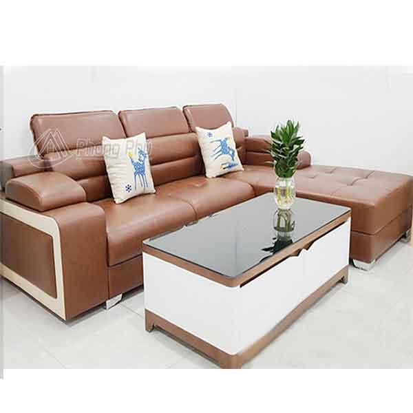 Sofa da cao cấp SFD003