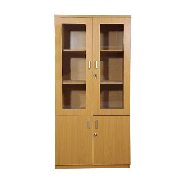 Tủ gỗ tài liệu 2 buồng TLV02